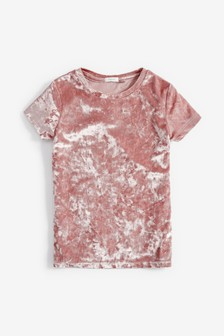 絲絨T恤 (3-16歲)