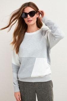 Patchwork Sweatshirt (580968) | $35