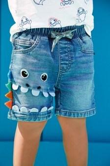 Naťahovacie džersejové šortky s postavičkou (3 mes. – 7 rok.)