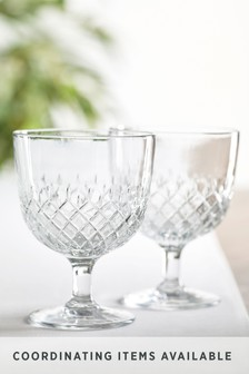 Lot de 2 verres à vin Averie