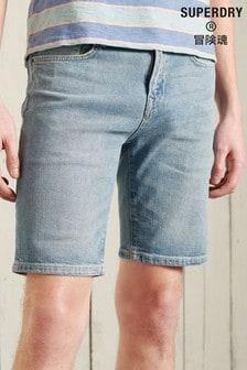 Superdry Blue Slim Shorts