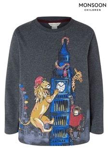 Monsoon London T-Shirt, Grau