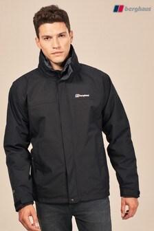 Черная водонепроницаемая куртка 3 в 1 Berghaus Alpha Gemini