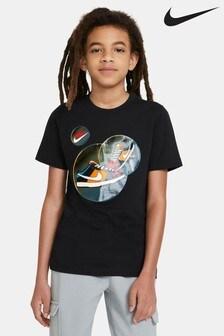 חולצת טיDunkשחורה שלNike