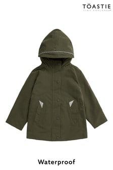 Детская куртка-дождевик оливкового цвета Töastie®