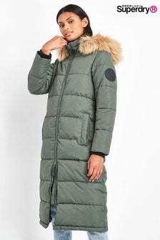 Khaki kabát Superdry Everest