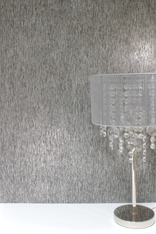 Papel pintado texturizado con purpurina de Paste The Wall