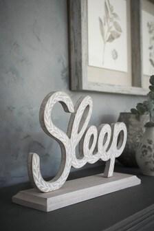Sleep Word Block