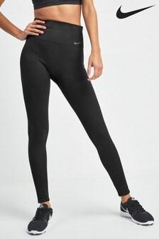 Nike Studio Dri-FIT Power Black Seamless Training Leggings