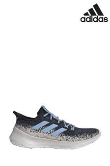 Темно-синие кроссовки для бега adidas Sensebounce