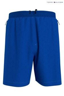 Tommy Hilfiger Blue Logo Training Shorts