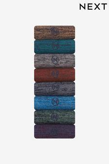 麻灰襪子八雙裝