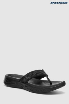 Skechers® On-The-Go 3 Point Sandalen, Schwarz