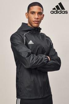 جاكيت مطر أسود من Adidas