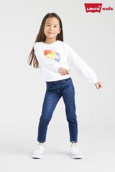 Levi's® Kids 710 兒童超級窄管牛仔褲