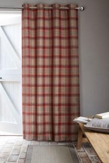 Tweedy Cranford Eyelet Door Curtains