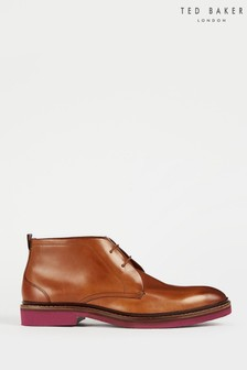 Ted Baker Natural Tornev Casual Ankle Boots