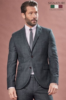 Marzotto Signature Textured Suit: Jacket