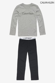Серый пижамный комплект Calvin Klein