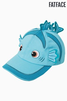 FatFace Blue Fish Creature Cap