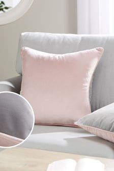 Две квадратных бархатных подушки Mila