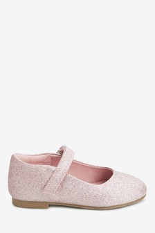 Туфли с ремешком на низком каблуке (Младшего возраста)