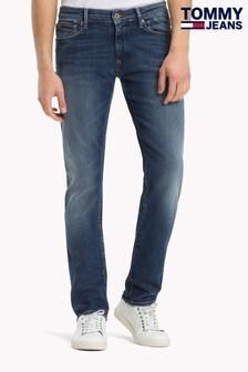 Vaqueros cómodos oscuros de corte ajustado Scanton de Tommy Jeans