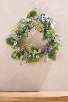 Artificial Foliage Wreath