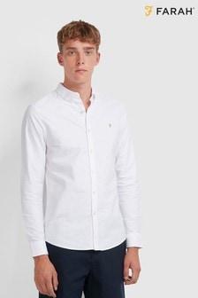 חולצת אוקספורדBrewer מכותנה שלFarah