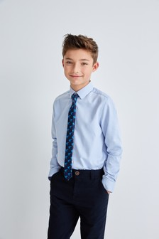 Комплект - рубашка и галстук (3-16 лет)