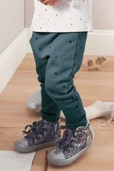Спортивные брюки в горошек (3 мес.-7 лет)