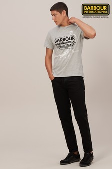 Barbour® International Black A701 Slim Fit Jean