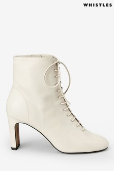 Whistles Beige Dahila Boots