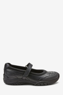 Leather Casual Mary Jane Shoes (Older)