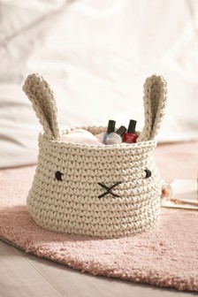Animal Knitted Storage Basket