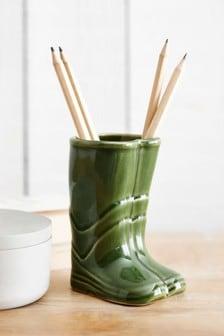 Mini Wellie Boot Vase