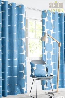 Scion Lohko Eyelet Curtains