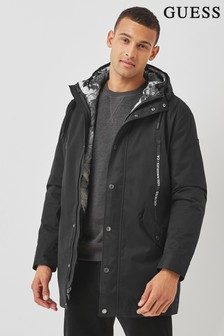 Guess Black Commuter 4-In-1 Technical Jacket