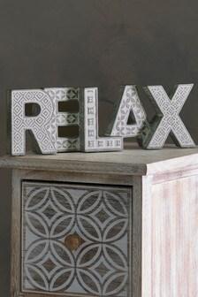 Relax Word Block