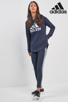 adidas Essential 3條紋內搭褲