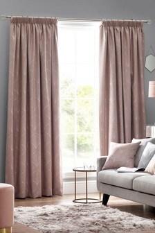 Design Studio Blush Metro Curtains