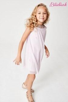 Billie Blush Pink Glitter Dress