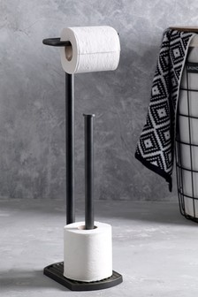 Bronx Toilet Roll Stand And Store