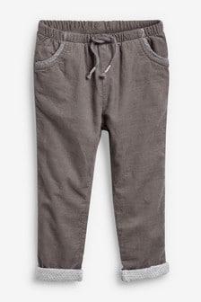 Вельветовые брюки без застежки (3 мес.-7 лет)