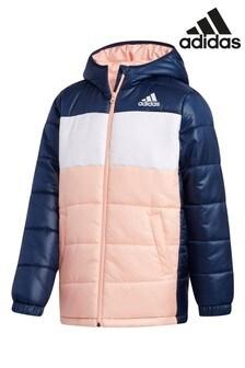adidas Navy Padded Jacket