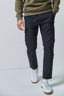 Хлопковые брюки-карго