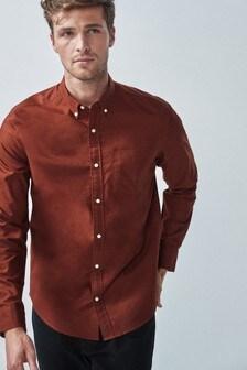 Oxfordská košeľa s dlhými rukávmi