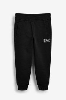 EA7 Jogginghose mit Logo, Schwarz