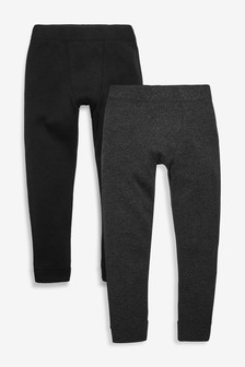2 Pack Thermal Leggings (2-16yrs)