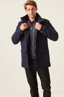 Herringbone Field Jacket
